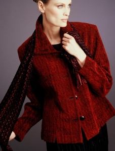 Red Chenille Jacket